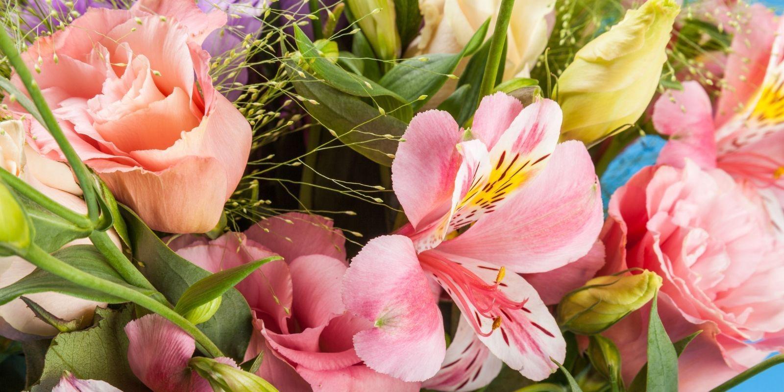 Acertar con ramos de flores baratos