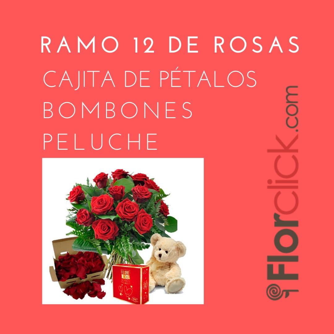 Enviar a domicilio rosas  rojas es siempre garantía de éxito