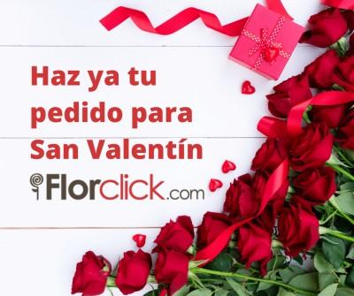 Prepara San Valentín con los regalos de Florclick.com