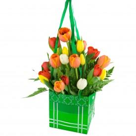 Bolso de Tulipanes