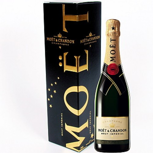 Botella Champagne Moet & Chandon
