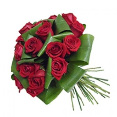 Bouquet 18 rosas rojas