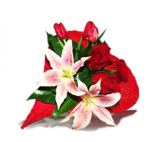 Bouquet Corazón
