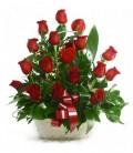 Cesta 18 Rosas Rojas