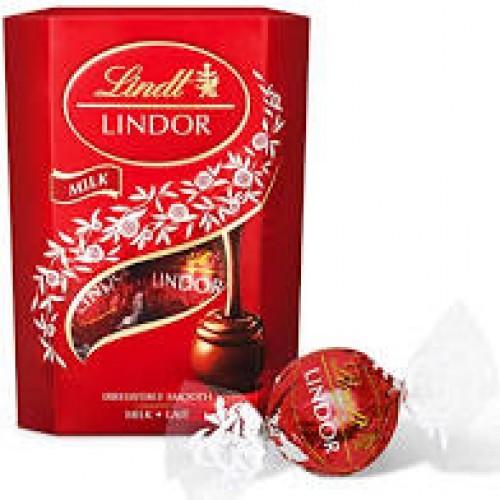 Lindt Lindor Bombones de Chocolate con Leche 200g
