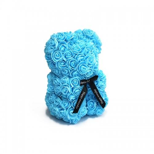 Osito Azul de Rosas Foam