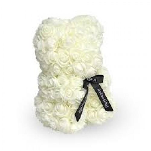 Osito Blanco  de Rosas Foam