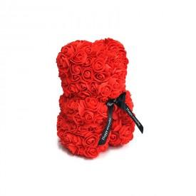 Osito Rojo de Rosas Foam