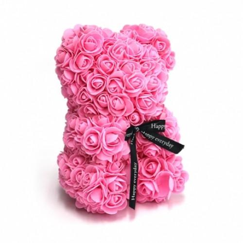 Osito Rosa de Rosas Foam