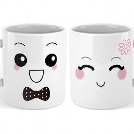 Pack Taza MR. & MRS.