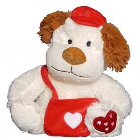 Peluche Perro Enamorado