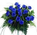 Ramo 12 Rosas Azules
