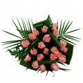 Ramo de 12 Rosas Rosa