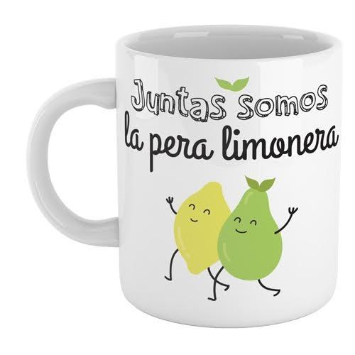 Taza juntas somos la pera limonera